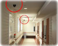 廊下見守りカメラ